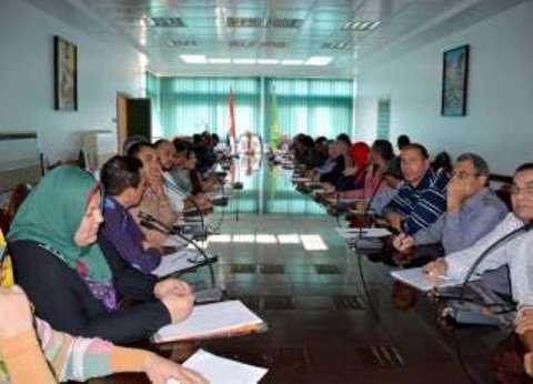 محافظ القليوبية: تدريب موظفي ديوان المحافظة على ميكنة العمل الإداري