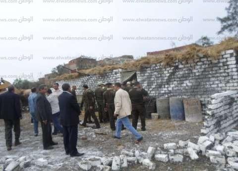 إزالة 119حالة تعدٍ على الأراضى الزراعية في كفر الشيخ