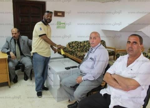 """إقبال كثيف على اللجنة النقابية للعاملين في """"بترول بلاعيم"""" بأبورديس"""