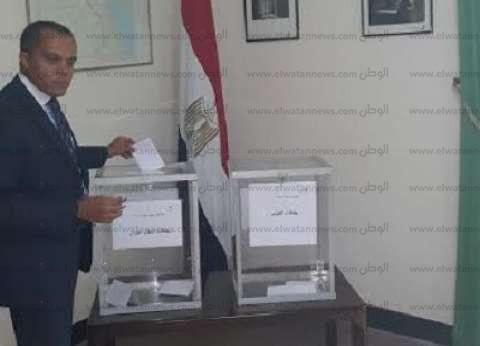 قنصل مصر بالرباط: الإقبال أقل من انتخابات الرئاسة.. والرقم القومي يشكل عائقا