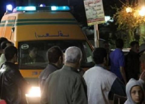 """إصابة مجند بـ""""الحماية المدنية"""" في حادث حريق خط الغاز بدمياط"""