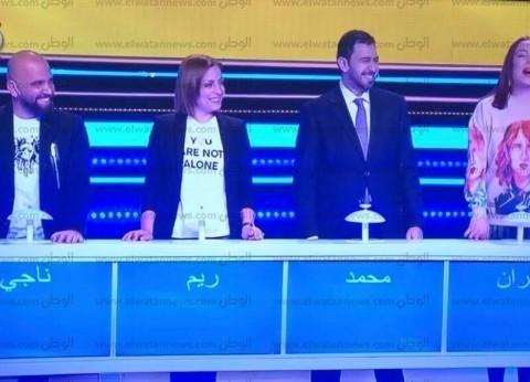 """بالصور  ريم البارودي ومها أحمد تظهران في إحدى قنوات """"الجزيرة"""""""