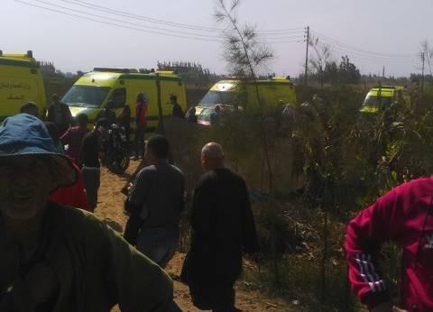 طوارئ بمسشفيات البحيرة بعد حادث القطارين