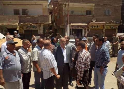 """محافظ المنيا يتابع تطبيق منظومة نظافة """"الجمع السكني للقمامة"""""""