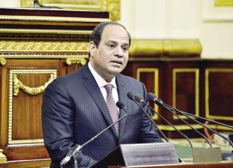 السيسي يتلقى العزاء في ضحايا الطائرة هاتفيا من ملك الأردن