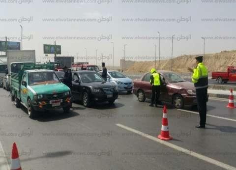 سحب 557 رخصة قيادة وسيارة في حملة مرورية بالقاهرة