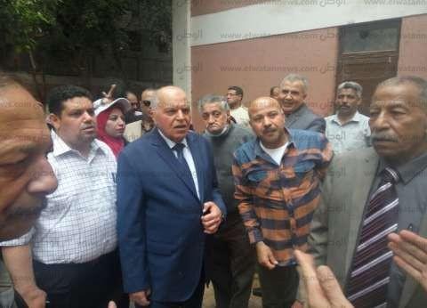 بالصور| نقيب المعلمين يقود مسيرة بفيصل للحث على المشاركة في الانتخابات