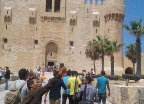 قلعة قايتباي بالإسكندرية تحقق إيرادات 59 ألف جنيه خلال ثاني أيام العيد