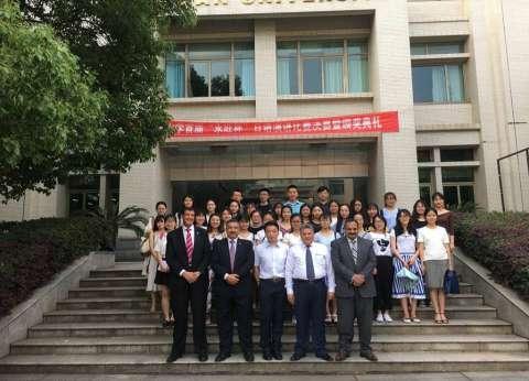 رئيس جامعة بنها يزور جامعة وسط الصين بهدف تعزيز التعاون ونقل الخبرات