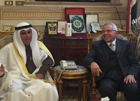 وزير العدل الكويتي: القضاء المصري الشامخ الأقرب للفقه القانوني لدينا