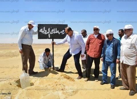 محافظة مطروح تنهي التعديات على أراضى الدولة
