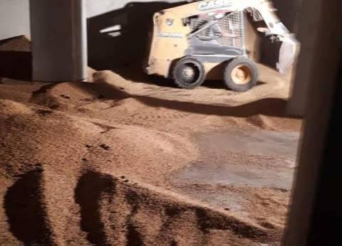 أمن الإسكندرية: انهيار غلال الصومعة أثناء تنظيف مكان تخزين فول الصويا