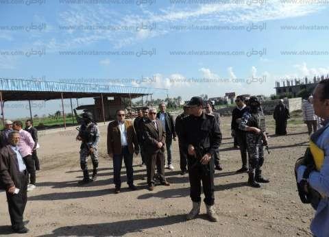 مدير أمن البحيرة يتفقد الخدمات الأمنية في مركز أبو حمص