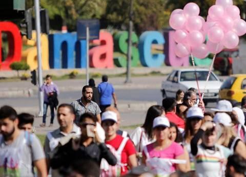 """عقب """"الضربة الأمريكية"""".. سيارات تجوب شوارع دمشق بالأغاني الوطنية"""