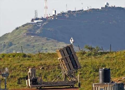"""الاحتلال يعلن إسقاط """"صواريخ"""" أطلقت من غزة"""