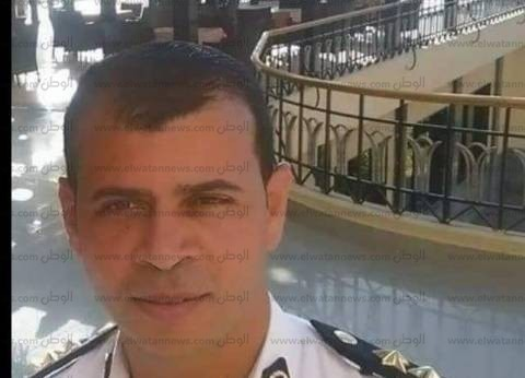 أهالي البحيرة يشيعون جثمان نقيب الشرطة ضحية حادث سير بجنوب سيناء