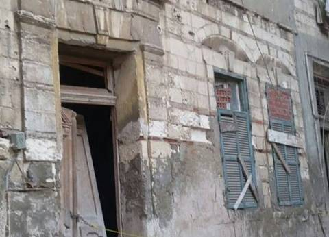 """""""أمن الإسكندرية"""": 6 مصابين في انهيار جزئي لعقار.. و""""الصحة"""":  3 مصابين"""