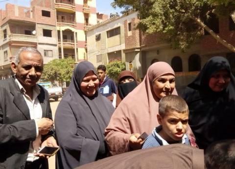 أسرة الشهيد محمود عادل تشارك في الإدلاء بصوتها بالانتخابات
