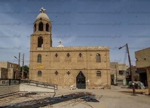 «دير جبل الطير».. «قرية» تنتظر التطوير و«كنيسة» فى مرحلة الترميم