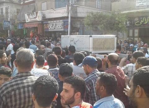وفاة ضحية جديدة خلال تشييع 10 أشخاص لقوا مصرعهم بحادث أتوبيس بورسعيد