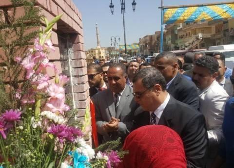 في عيدها القومي.. محافظ الفيوم يفتتح مدارس ومساجد وكورنيش شكشوك