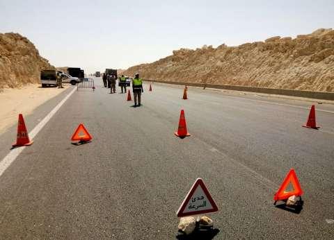 """""""المرور"""" تضبط 1630 مخالفة تجاوز السرعة المقررة في المحافظات"""