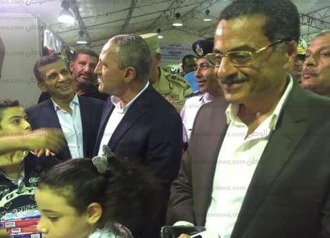 بالصور| مدير أمن الإسماعيلية في افتتاح معرض الداخلية لمستلزمات المدراس