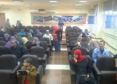 """""""التضامن الاجتماعي"""" بجنوب سيناء تكرم العاملين المتميزين لعام 2015"""