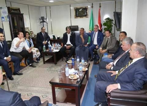 وزير التنمية المحلية يجتمع مع أعضاء مجلس النواب بالمنوفية