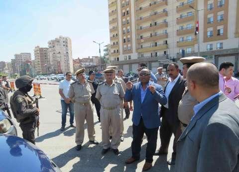 بالصور| مدير أمن الغربية يتفقد طابور اصطفاف القوات لتأمين عيد الأضحى