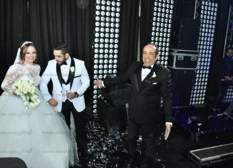 بالصور| تامر حسني وعدوية والليثي يحيون حفل زفاف ابنة أحمد صيام