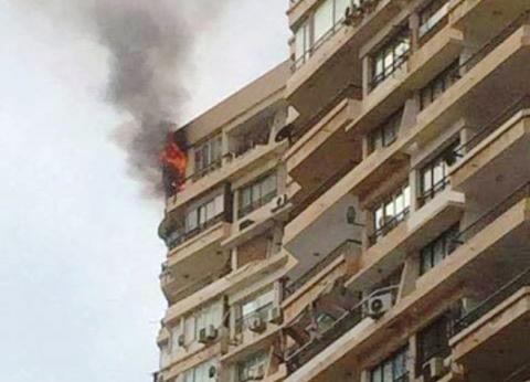 السيطرة على حريق بشقة سكنية في جمرك الإسكندرية بسبب ماس كهربائي