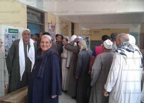 إقبال كثيف على التصويت بانتخابات الرئاسة في البحيرة