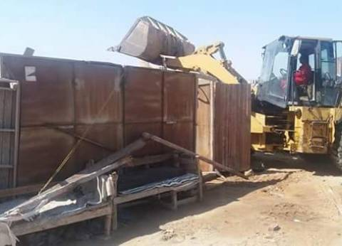 رئيس حي المعادي: حملة استرداد الأراضي تستعيد 96 ألف متر
