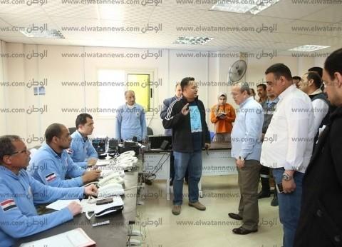 بالصور  محافظ كفر الشيخ يتفقد استعدادات مرفق الإسعاف للاستفتاء