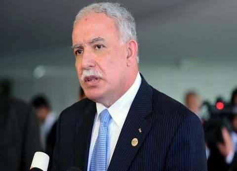"""وزير الخارجية الفلسطيني: قرار """"ترامب"""" أفقد أمريكا أهلية الوسيط"""