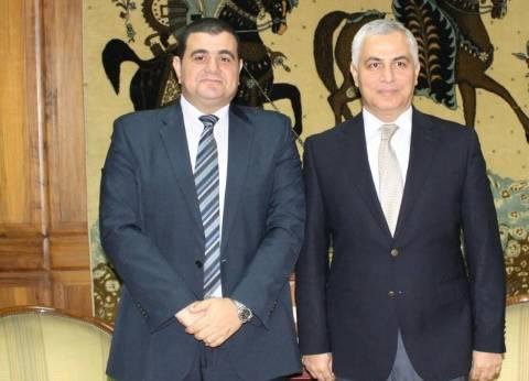 رئيس الهيئة العامة لدار الكتب والوثائق القومية يلتقي سفير طاجيكستان