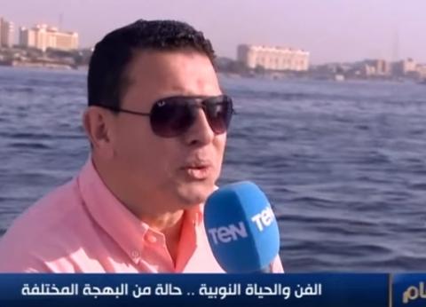 شاهد| عمرو عبد الحميد يغني باللهجة النوبية في أسوان