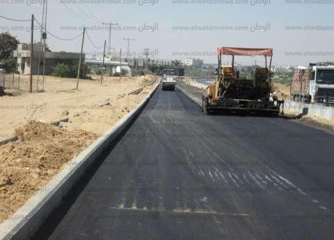 محافظ الشرقية: 7 ملايين جنيه لرفع كفاءة شبكة الطرق الداخلية