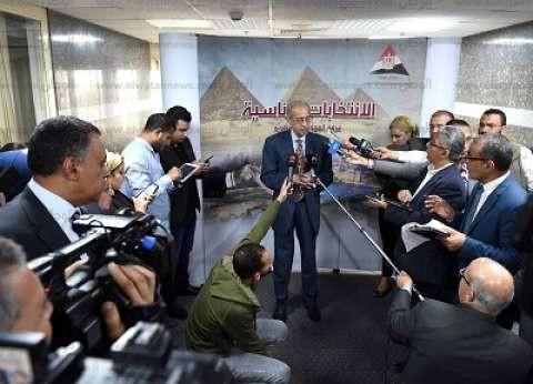 """رئيس الوزراء يتابع مجريات التصويت من """"عمليات المجلس"""" ويشيد بالإقبال"""
