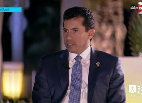 وزير الرياضة: محمد صلاح جعل نفسه حلما لكل طفل مصري