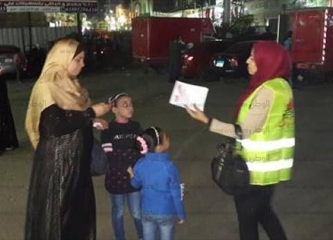 سيارة زوجة مرشح بحدائق القبة تدهس طفلا بعد اعتصام الناخبين لانتظار الـ 200 جنيه