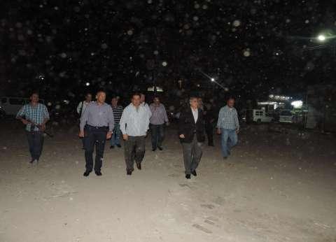 بالصور| مدير أمن الفيوم يشدد على جاهزية القوات والكمائن الأمنية