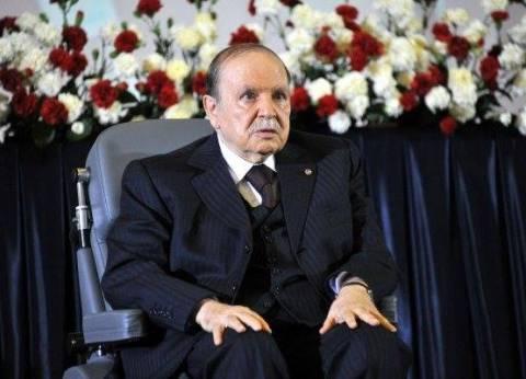 ظهور علني نادر للرئيس الجزائري عبدالعزيز بوتفليقة