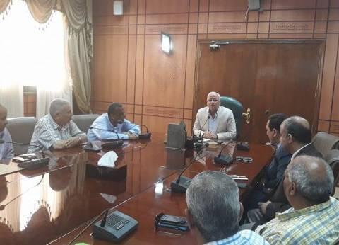 محافظ بورسعيد يشيد بجهود مديرية التموين خلال رمضان