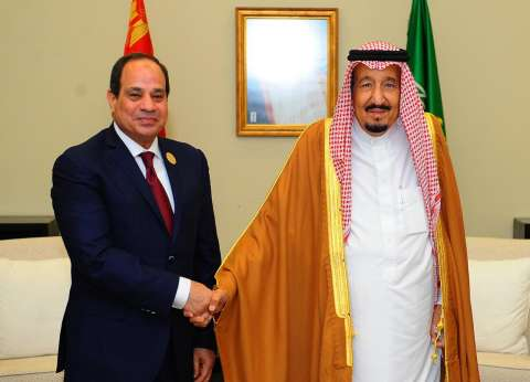 سامح شكري يسلم العاهل السعودي رسالة من الرئيس السيسي