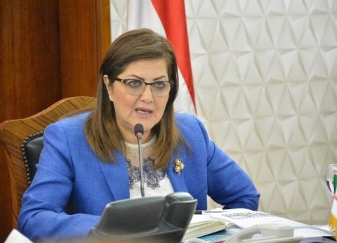 """وزيرة التخطيط تلتقي أمين عام """"القومي لرعاية أسر الشهداء والمصابين"""""""