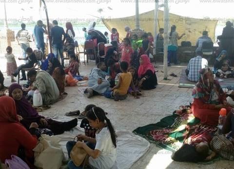 بالصور| أهالي أسيوط يقضون ثاني أيام العيد في المتنزهات وعلى النيل