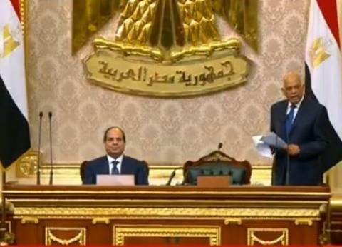 """علي عبدالعال لـ""""السيسي"""": لقد نصرت شعبك في مواقف كثيرة"""