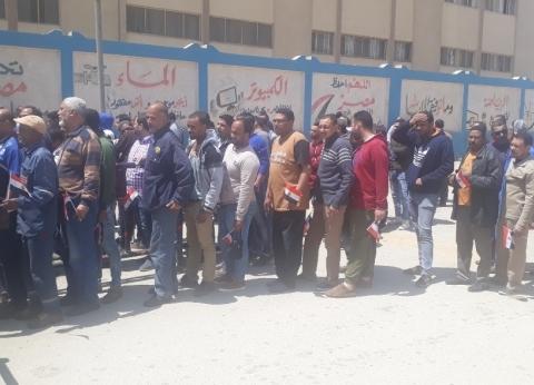 لجان السويس تفتح أبوابها أمام الناخبين في ثاني أيام الاستفتاء